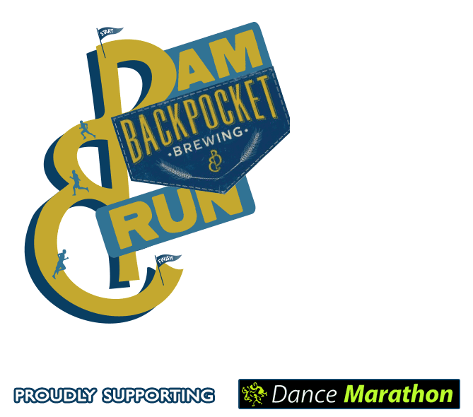 Dam Backpocket Run Logo